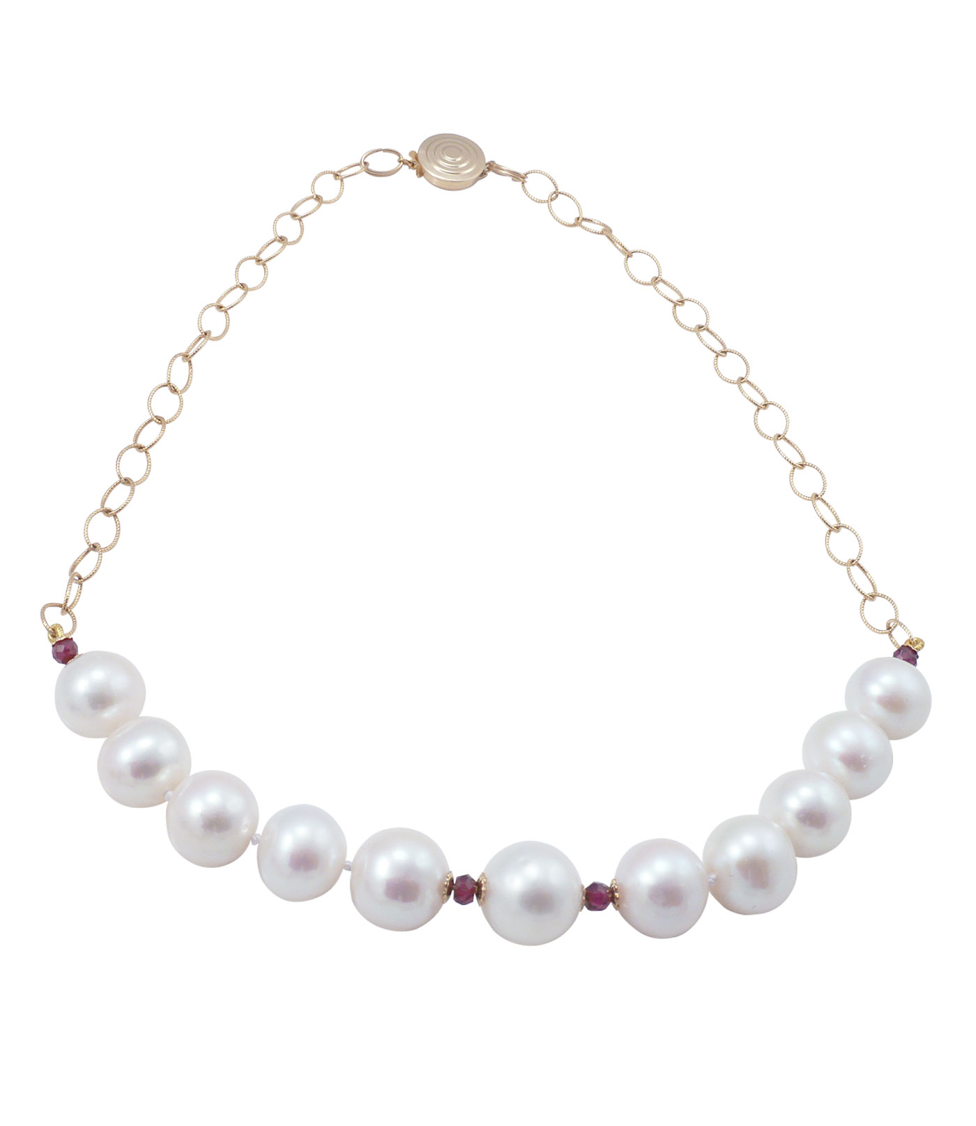 white pearl us mixed jewellery necklace viena bow freswater