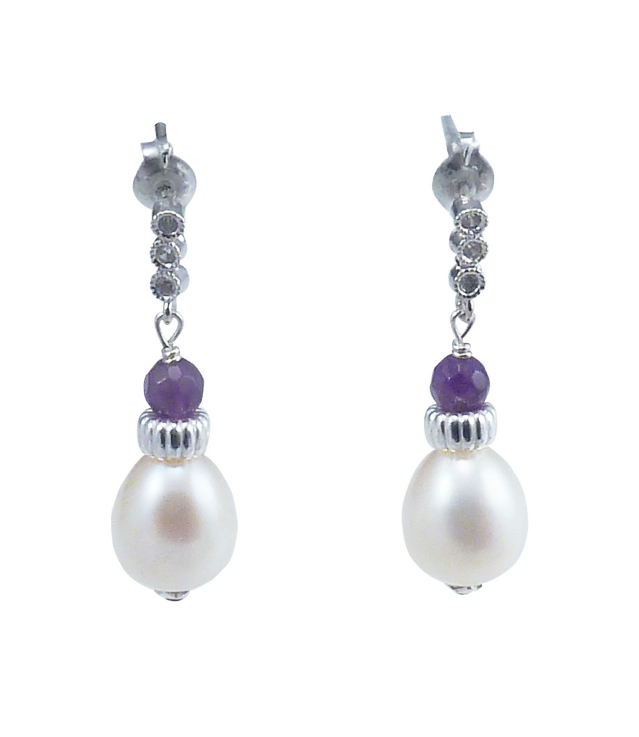 winterson white stud pearl carat gold peral south earrings in sea