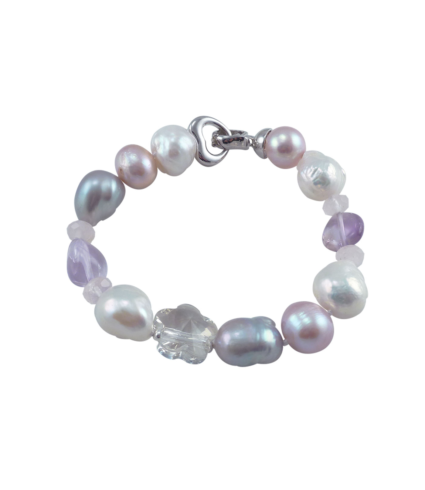freshwater silver bracelet silverquest sterling products pearl and img