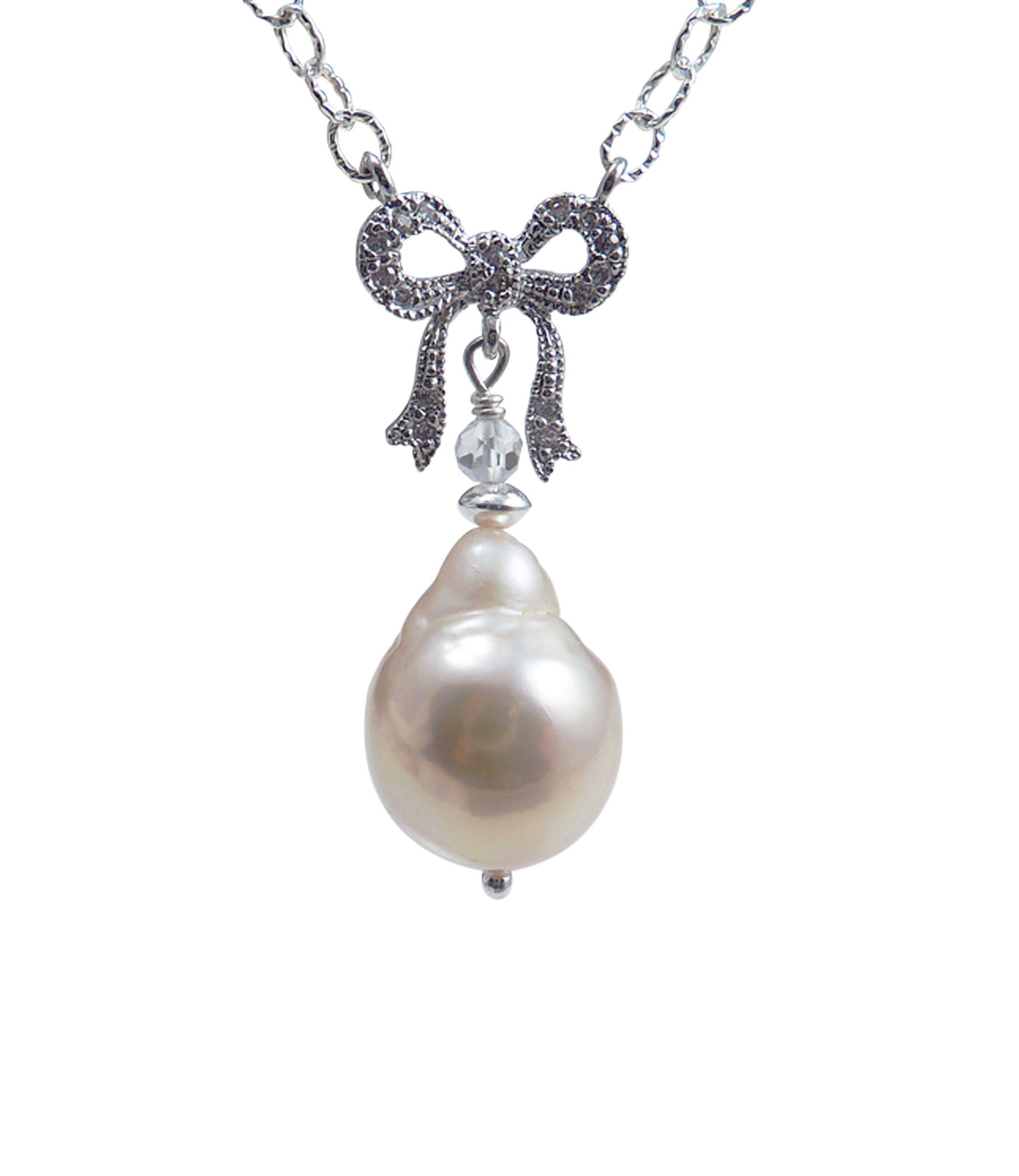pink create an necklace bella set pendant pearl earring and account sterling nesr silver